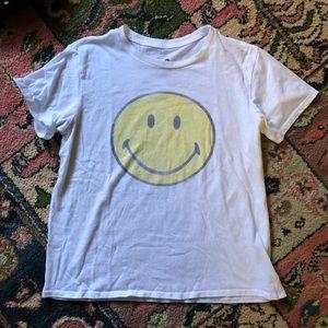 Smiley face tee shirt smile Sz Small